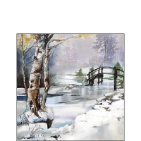 Servietten 25x25 cm - It`s Wintertime