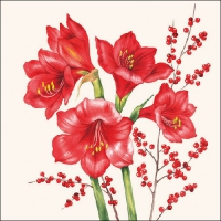 Lunch Servietten Amaryllis