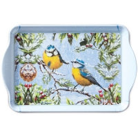 Tablett - 15X23cm Chirping Birds