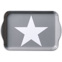Tablett  Star Grey