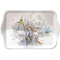 Tablett - 13X21cm Birds On Branches
