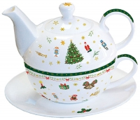 Tea 4 One - Christmas Evergreen White