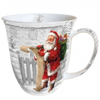 Porzellan-Tasse Wish List