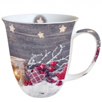 Porzellan-Tasse Birch Candlelight