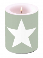 Kerze CANDLE STAR SAND