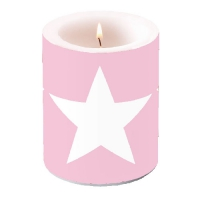Kerze CANDLE STAR ROSE