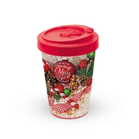 Bamboo mug To-Go - Merry Little Christmas
