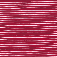 Servietten 33x33 cm - Red Stripe