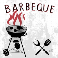 Servietten 33x33 cm - Barbeque Fun