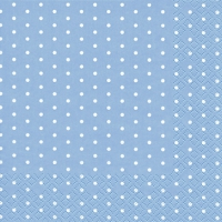 Cocktail Servietten Mini Dots light blue
