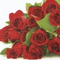 Servietten 25x25 cm - Bunch of Roses