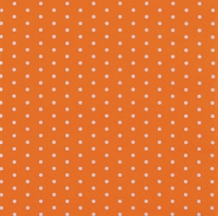 Cocktail Servietten Mini Dots orange