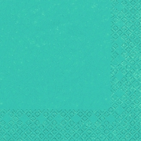 Cocktail Servietten Modern Colours turquoise