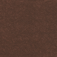 Cocktail Servietten Modern Colours braun/brown