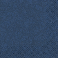Cocktail Servietten Modern Colours dark blue