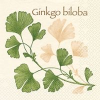 Lunch Servietten Ginkgo Biloba