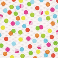 Servietten 33x33 cm - Party Dots