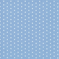 Lunch Servietten Mini Dots light blue
