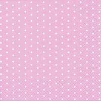 Lunch Servietten Mini Dots rose