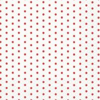 Lunch Servietten Mini Dots white/red