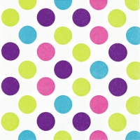 Lunch Servietten Maxi Dots trendy