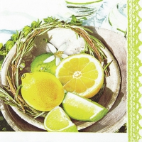 Lunch Servietten Citrus&Lime