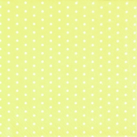 Servietten 33x33 cm - Mini Dots yellow/white
