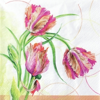 Lunch Servietten Parrot Tulip