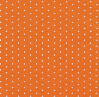 Servietten 33x33 cm - Mini Dots orange