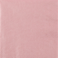 Servietten 33x33 cm - Pearl Effect antique rose
