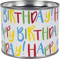 Scented candle - Happy Birthday!