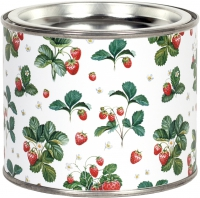 Scented candle - Strawberry Pattern
