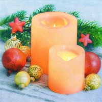 Servietten 33x33 cm - Candle Atmosphere