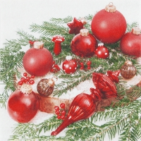 Servietten 33x33 cm - Tree Ornaments