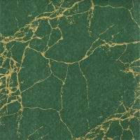 Servietten 33x33 cm - Royal Marble dark green
