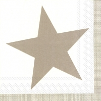 Cocktail Servietten PURE STAR linen