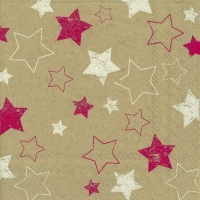Cocktail Servietten little paper stars