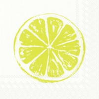 Servietten 25x25 cm - LEMON BAR lime