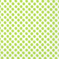 Cocktail Servietten CUTE PATTERN white green