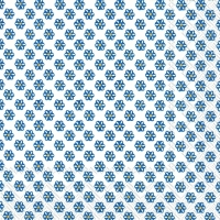 Cocktail Servietten CUTE PATTERN white dark blue