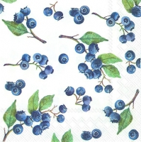 Servietten 25x25 cm - BLUEBERRIES