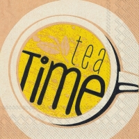 Servietten 25x25 cm - its tea time
