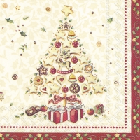 Servietten 25x25 cm - CHRISTMAS BAKERY TREE (V&B)