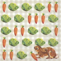 Cocktail Servietten LITTLE BUNNIES linen