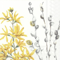 Servietten 25x25 cm - YELLOW SPRING TIME