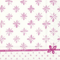 Servietten 25x25 cm - DARCY light rose