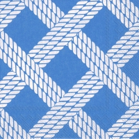 Servietten 25x25 cm - SAILOR´S ROPE light blue
