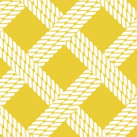 Servietten 25x25 cm - SAILOR´S ROPE yellow