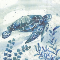 Servietten 25x25 cm - AQUAWORLD WATERTURTLE