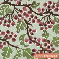 Servietten 25x25 cm - HAWTHORN BERRY light green